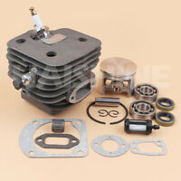 52mm Big Bore Cylinder Piston Kit For Husqvarna 162 266 266SE Chainsaw Nikasil