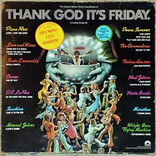 33t B.O.F. Thank God it's Friday - OST (3 LP) Diana Ross, Donna Summer…