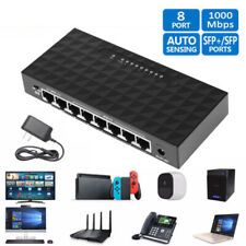 2020 NEW 8 Port Gigabit Ethernet Network Switch 10/100/1000Mbps High-performance