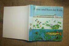 Fachbuch Binnengewässer, Flüsse, Seen der Erde, Gewässerkunde DDR 1980