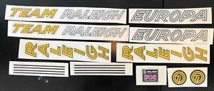 Team Raleigh Europa Decal set
