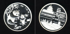 Silber Panda CHINA 1997 - 1 Unze in PP - MÜNCHEN PANDA original, selten