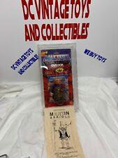 Vintage MOC 1986 GWILDOR MASTERS OF THE UNIVERSE MOTU Martin Arriola Owned !!