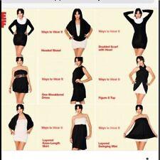 American Apparel The Unisex Circle Scarf Women's Men's Size OS Beige Versatile