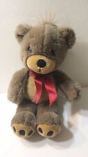 Precious Moments Brown Bear Plush Soft Stuffed Animal Collectible Toy