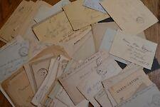 lot lettres années 20 sélection cachet trésor et postes divers cachet a étudier