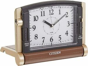 CITIZEN alarm clock Abroad963 Travel mobile with light 4GE963-006 Compact Japan