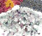 Rainbow Fluorite Mini Gemstone Chips Candlemaking Orgonite Wicca Roller Crystals