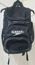 Speedo Large Teamster 35-Liter Solid Black Backpack