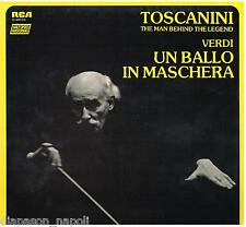 Toscanini: Verdi; Un Ballo In Maschera / Merrill, Peerce, Nelli - LP