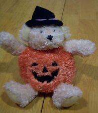 GANZ HALLOWEEN TEDDY BEAR Plush Stuffed Animal w/ SOUND