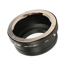 compatible Contax/Yashica C/Y Lens to M 4/3 MFT System Mount Adapter