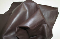 ITALIAN soft Lambskin leather hide skin hides skins  BROWN 7+sqf