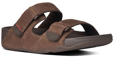 Fitflop Gogh Slide Adjustable Chocolate Brown and Black