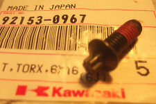 KAWASAKI KL250 KL650 ZX600 ZX900 KLX250 NOS IGNITION SWITCH BOLT - # 92153-0967