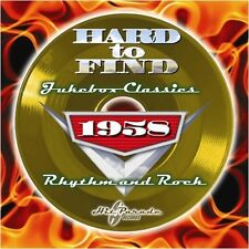 1958: Rhythm & Rock - Hard To Find Jukebox Classics (2009, CD NEU)