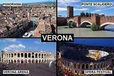 SOUVENIR FRIDGE MAGNET of VERONA ITALY