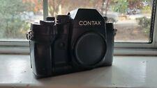 Contax Rx 35mm Slr Film Camera Body