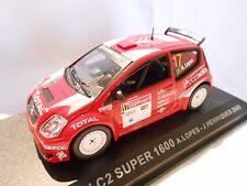 CITROËN C2 SUPER 1600 N°17 DU RALLYE DU PORTUGAL DE 2005