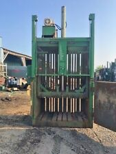 "PTR 60 "" Baler 10 HP MOTOR  - RECYCLING , TRASH , CARDBOARD"