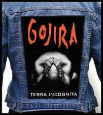 GOJIRA - Terra Incognita --- Huge Jacket Back Patch Backpatch