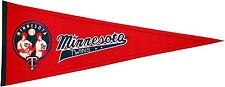 MLB Baseball MINNESOTA TWINS Banner großer Wimpel Pennant heritage Wolle
