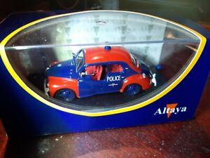 Altaya SCNA 0162 1:43 Renault 4cv Police de Monaco Polizei Monaco (222)
