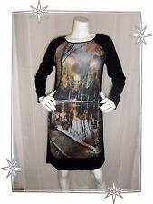 B - Vestido de fantasía Estampado Modelo Gaillac Olivia de Ibiza Talla L