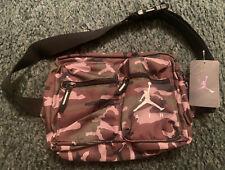 Nike Air Jordan Jumpman Green Camo Crossbody Shoulder Bag Style #9A0292-650 New
