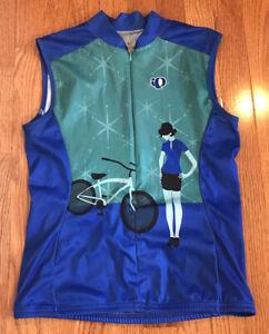 Pearl Izumi Select Bike Jersey Small Full Zip Lightweight woman bike sleeveless
