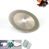 """5"""" 125mm Diamond Coated Saw Blade Grinding Disc Cutter Tool for Jewlery 120 Grit"""