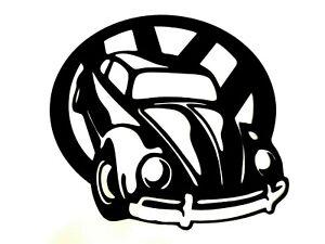 VW Beetle metal wall art, man cave