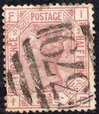 1875 Sg 139 2½d rosy mauve 'IF' Plate 2 - 379 Charlton Duplex Cancel Fine Used