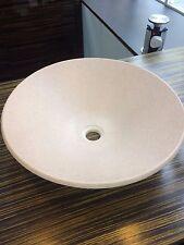 Bespoke Corian Primrose 1691 Sit On Basin-45cm Diameter RRP £520-ONLY ONE