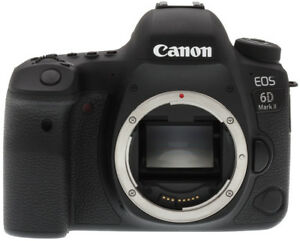 "Canon EOS 6D Mark II 6DII Body 26.2mp 3"" Brand New jeptall"