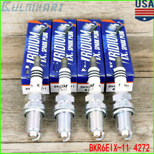 4X Iridium Spark Plugs BKR6EIX-11 4272 For TY Lexus HD Suzuki Chevy Mazda