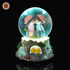 WR Junge Mädchen küssen Schneekugel Wasserball mit Licht und Musik Geschenke