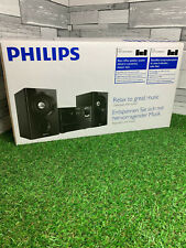 Philips MCM1350 Micro Music System CD MP3 Player New Boxed USB Direct