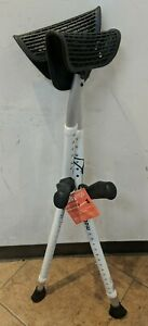 """Mobilegs ULTRA  A300 Adjustable Crutches Adult 4'9""""-6'4"""" 300lbs Max"""