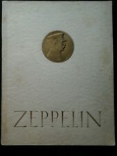 3 Zeppelin books, 1920s, German, pictures of and from airships