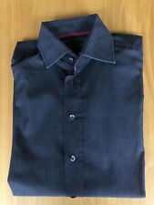 "TOMMY HILFIGER LONG SLEEVED SHIRT. SIZE 41/16. Measures 23"" x 29"" EXCELLENT COND"