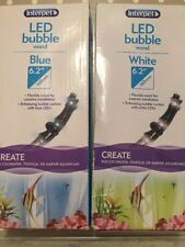 """Interpet LED Bubble Wand X 2 Colours White And Blue 6.2"""""""