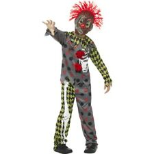 Deluxe Verdreht Clown Kostüm Jungen Horror Halloween Kostüm