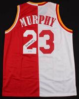 Calvin Murphy Houston Rockets Signed Basketball Jersey ~ PSA COA Authenticate! ~