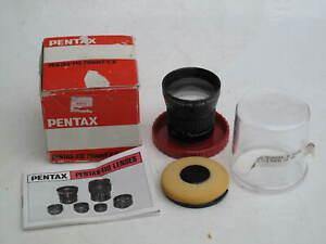"RARE Asahi Pentax auto 70mm f:2.8 lens with caps/bubbleBOX, US SELLER ""LQQK"""