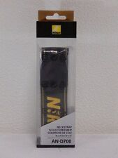 NIKON Neck Strap AN-D700 for D700 FX Digital SRL Camera Black and Yellow New!