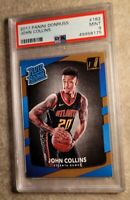 2017-18 ROOKIE Donruss #182 John Collins Hawks PSA 9 MINT💎GREAT INVESTMENT📈