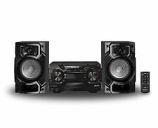 Panasonic Sc Akx220 Stereo System Bluetooth 110 220 Volt 450w Powerful Sound