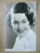 Film Actresses Postcard- MAUREEN O'SULLIVAN, ''Film Weekly No.2, London''