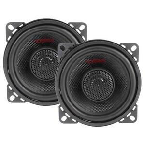 "4"" 2 Way Coaxial Speaker System 120 Watts Max Power 4 Ohm DS18 Z-44 Elite Series"